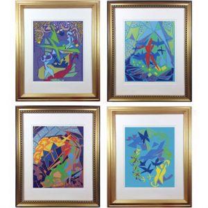 four art images