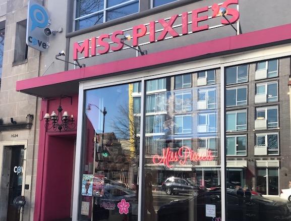 Vintage Décor-Miss Pixies